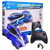 Wall Climbing Zero Gravity Remote Control Racer Vehicle Drive Up Any Smooth Surface, Boys Birthday Party Gift Electrical RC Driving Car Instruction Guide Included Blue