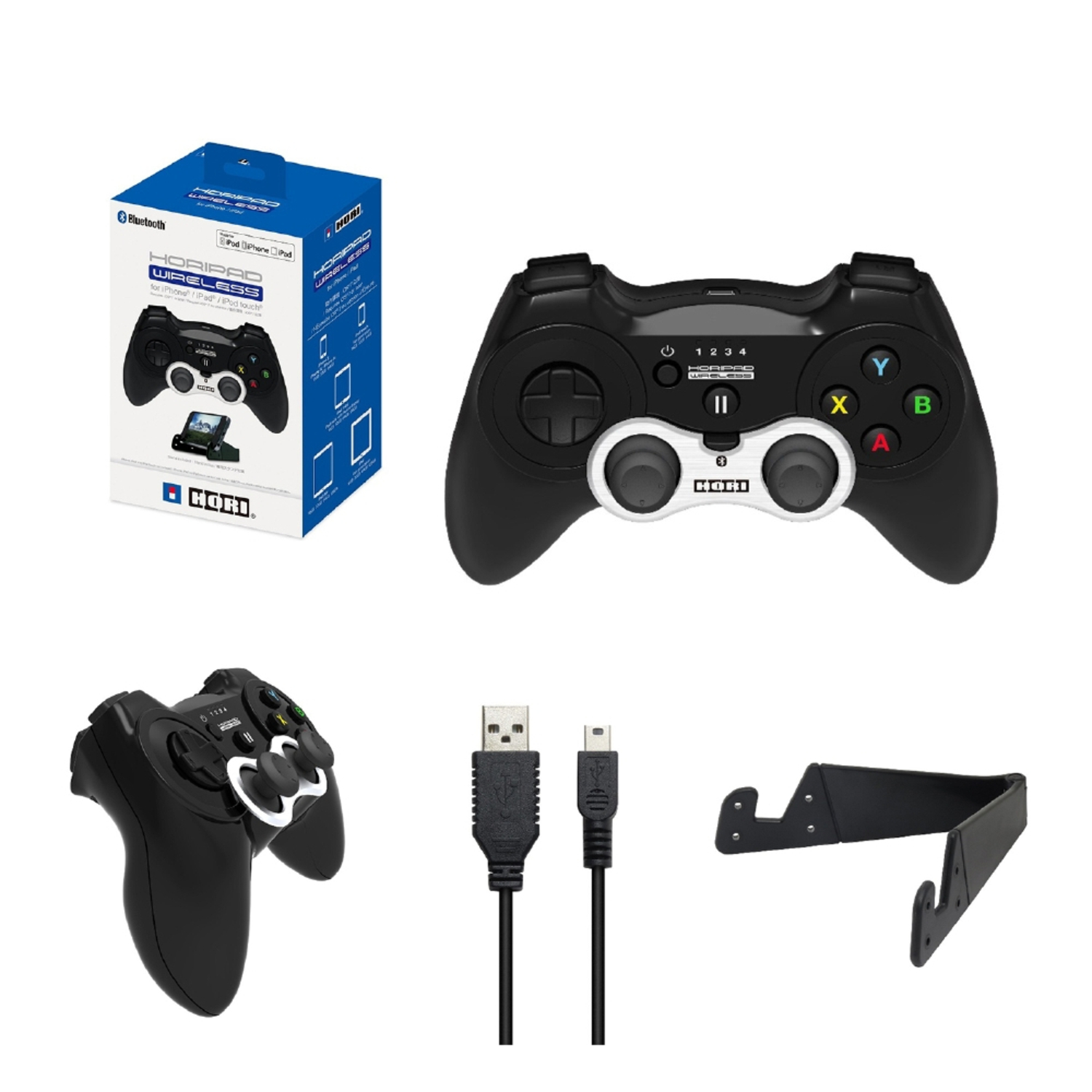 iOS - Controller - Wireless - Horipad for Apple iPhone / iPad / iPod / Apple TV (Hori)