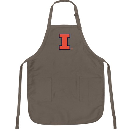 University of Illinois Apron Broad Bay BEST Illinois Illini APRONS for Men or Ladies - Him or