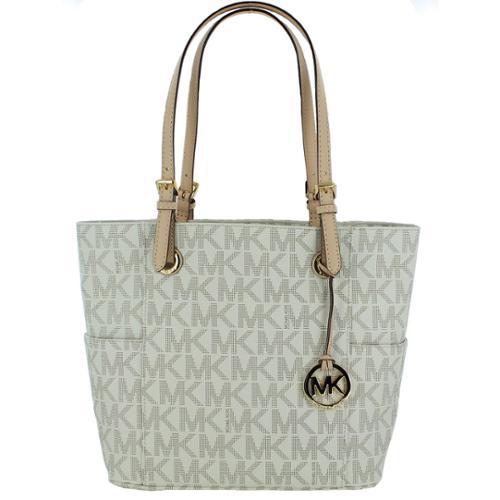 Michael Kors Women's, Jet Set Logo Tote Top-handle Bag, O...