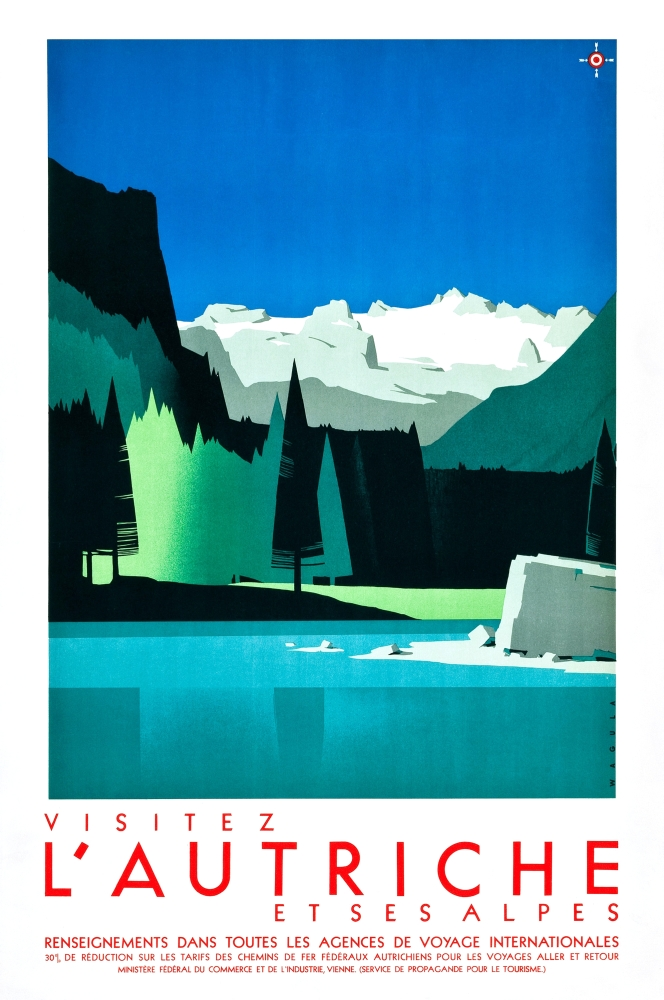 Art Deco Travel Poster