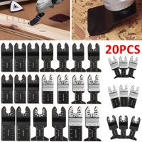 NEW 20/10pcs Saw Blades Oscillating Multi Tool Multimaster Wood Cutting Tool Kit
