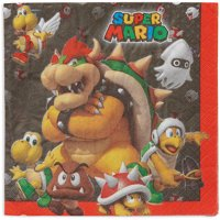 Super Mario Party Paper Lunch Napkins, 16ct