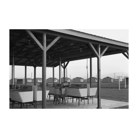 Laundry Facilities at Westley Camp Print (Unframed Paper Print 20x30)