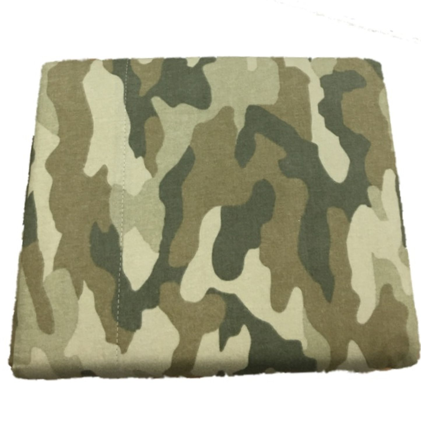 Cuddle Duds Camo Flannel Sheet Set Green Camouflage Queen...