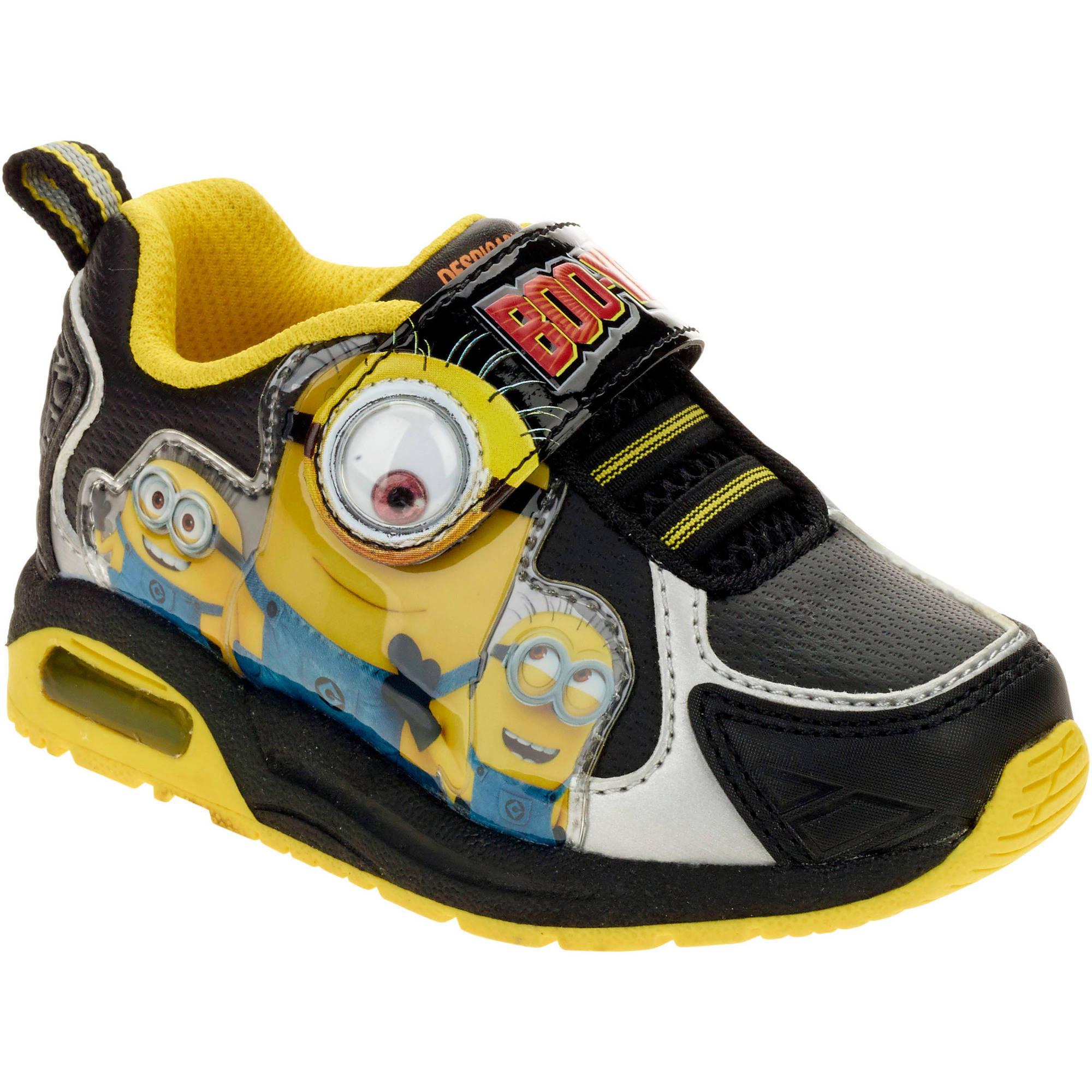 minions toddler boys lightweight athletic shoe walmart