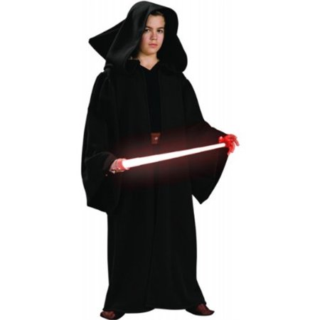 Deluxe Hooded Sith Robe Child Costume - Medium for $<!---->