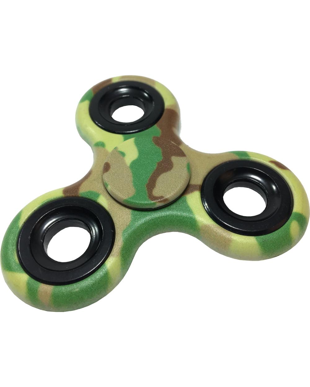 Fidget Spinner High Speed Green Light Up Weights Relief Toy