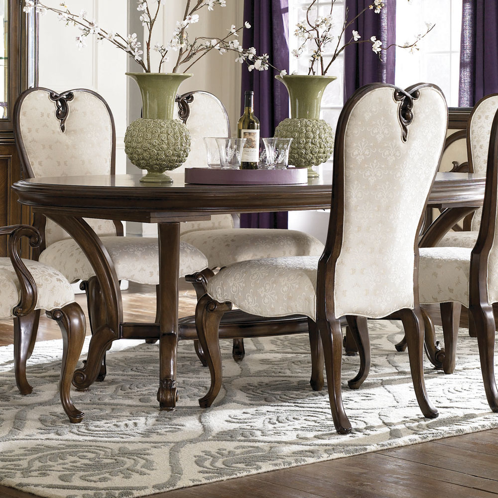 American Drew Jessica McClintock Renaissance Dining Table In Mink