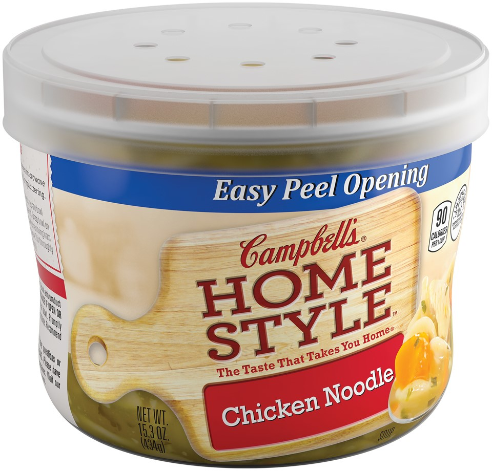 Campbell's Homestyle Chicken Noodle Soup 15.3oz Bowl by Campbell's