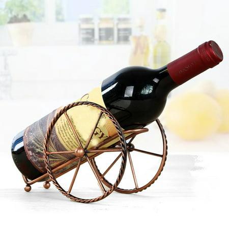 Wine Rack Stand Bottle Holder Storage Wedding Party Decor Ornament Gift ()