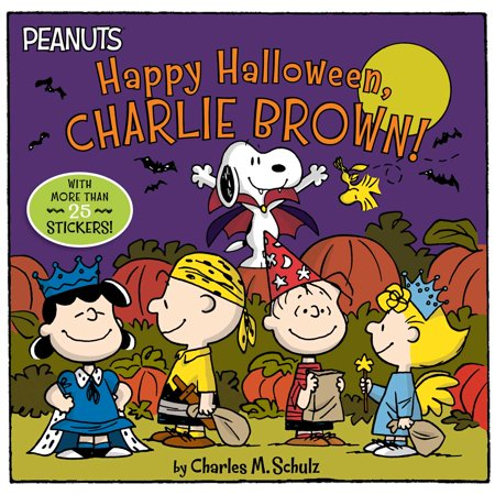 Happy Halloween, Charlie Brown! [With Stickers] (Paperback) (Media Cache Halloween)