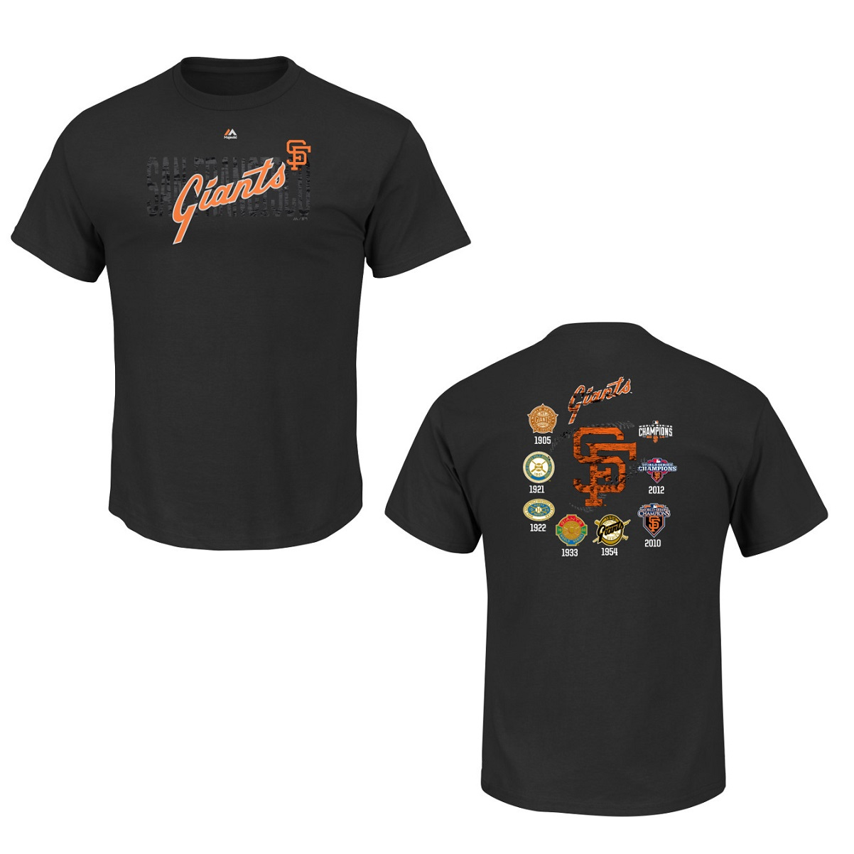 San Francisco Giants Black Last Rally Cooperstown T-Shirt (M)