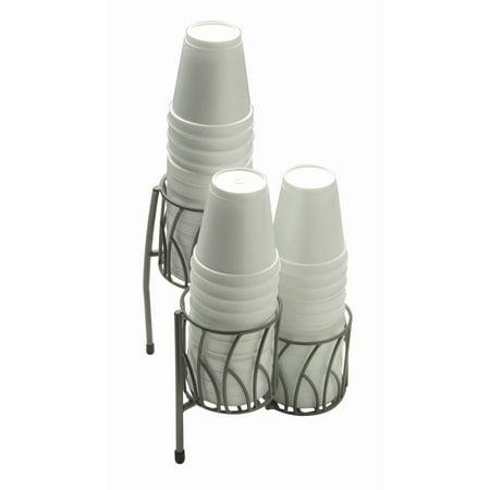 Dispense Rite Countertop Cup - Countertop Soft Cup Dispenser - 7 1/2 L x 7 1/2 W x 9