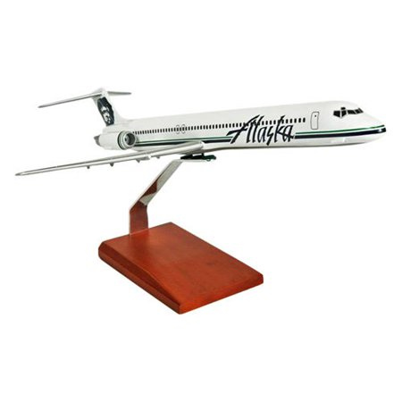 Daron Worldwide McDonnell Douglas MD-80 Alaska Model Airplane
