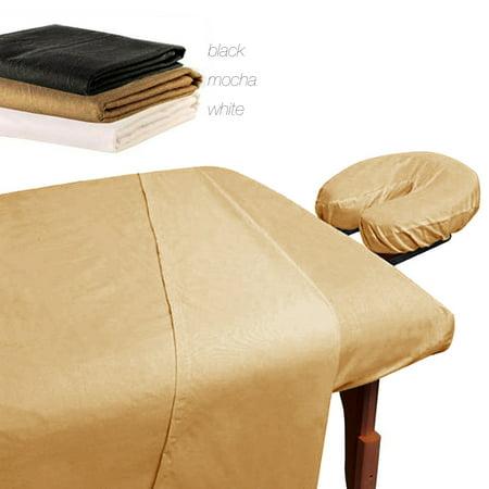 Royal Massage 100% Microfiber Massage Table Sheet Set