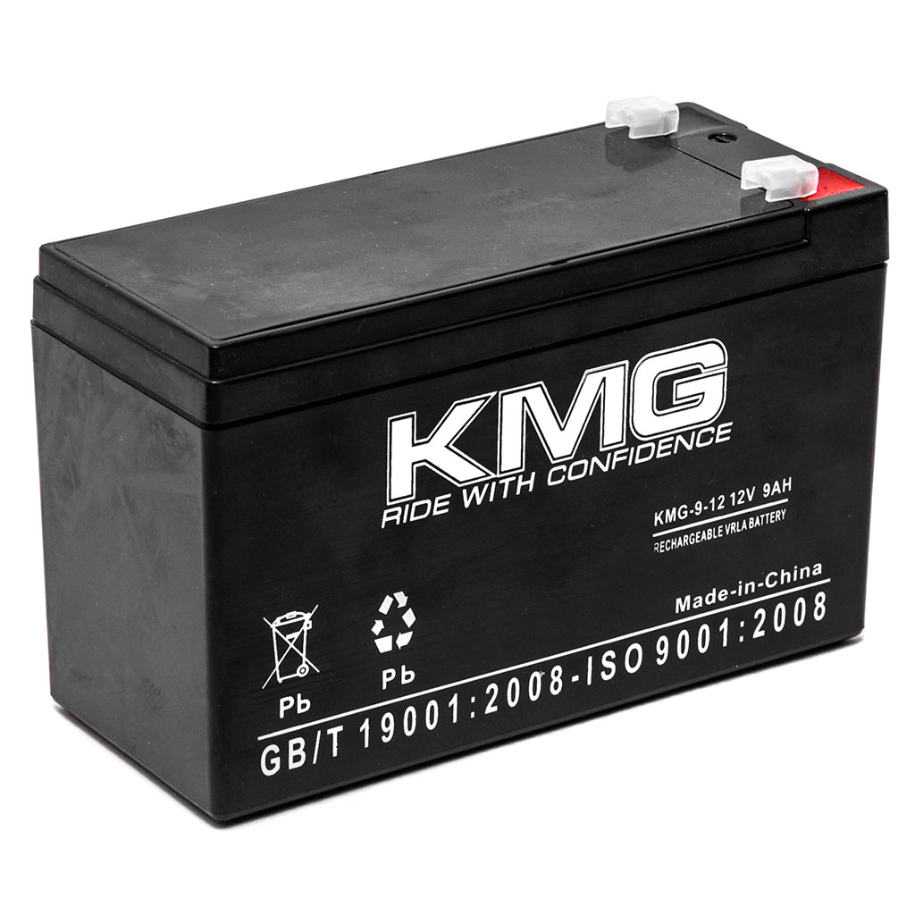 KMG 12V 9Ah Replacement Battery for Sun Mountain E-CART