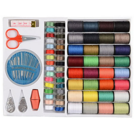 64Spools Assorted Colors Sewing Threads Set Sewing Tools -