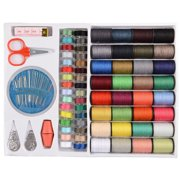64Spools Assorted Colors Sewing Threads Set Sewing Tools Kit