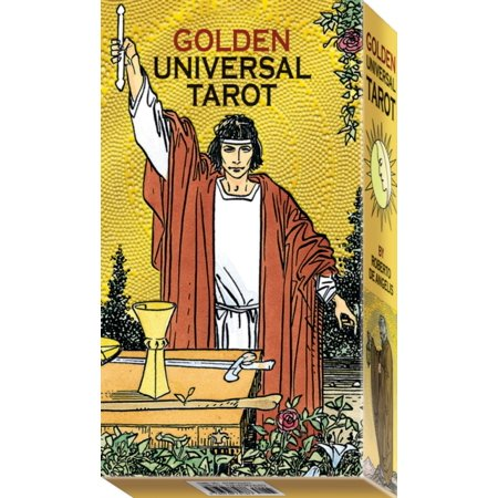 (Golden Universal Tarot: 78 full Colour Tarot Cards with Gold Foil Impressions (Paperback))