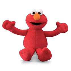 "GUND Sesame Street 5"" Beanbag Plush, Elmo"