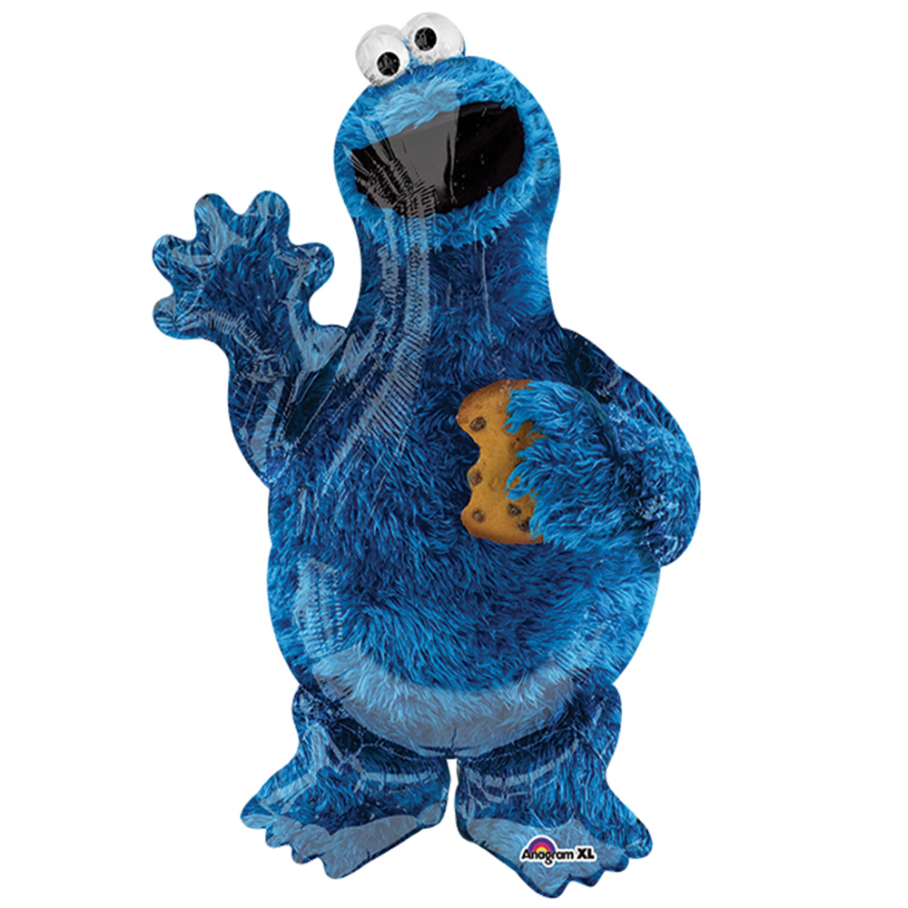 "Burton & Burton 35"" Cookie Monster Balloon"