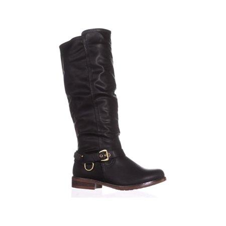 XOXO Mauricia Tall Riding Boots, Black - image 4 de 6
