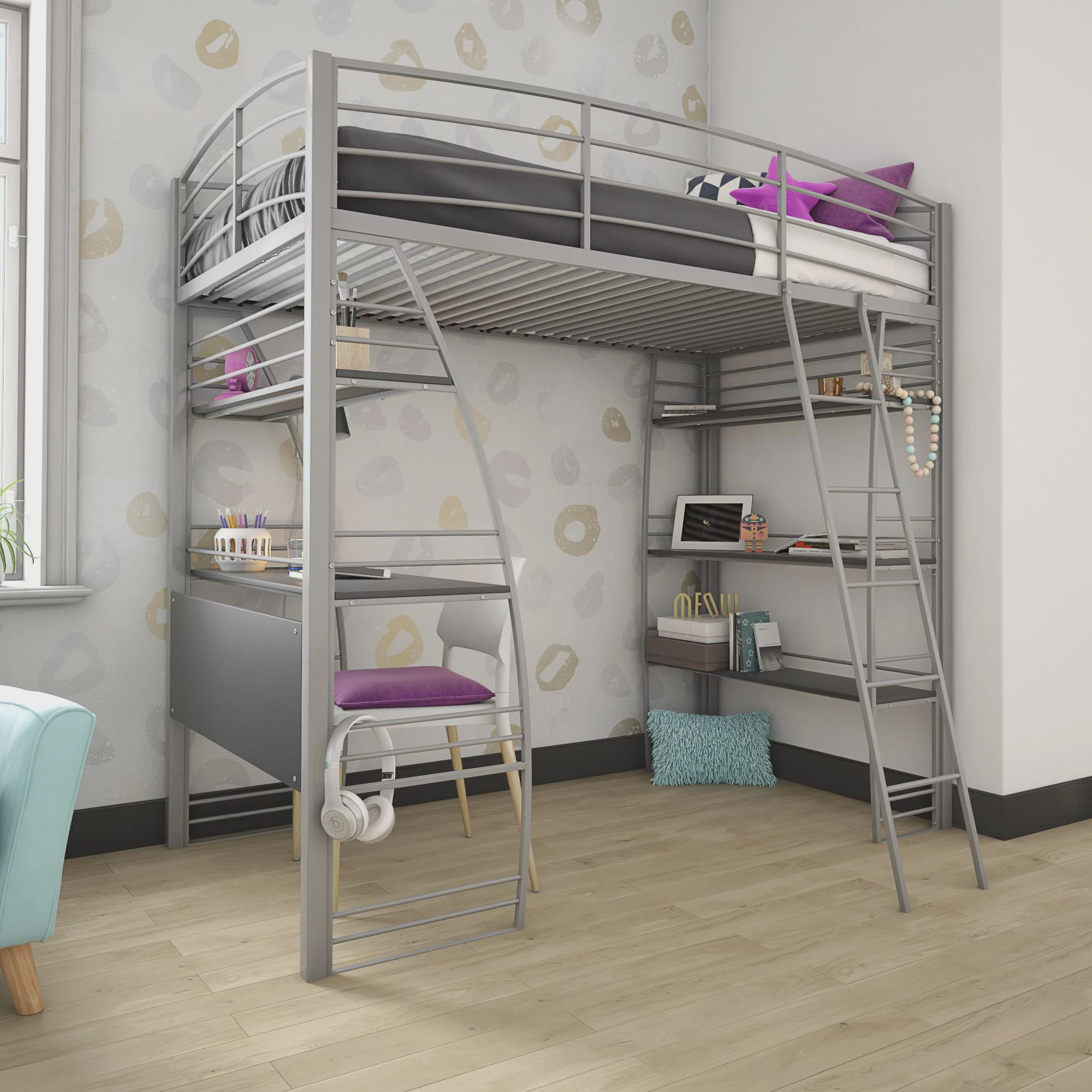 Dhp Studio Twin Loft Bed With