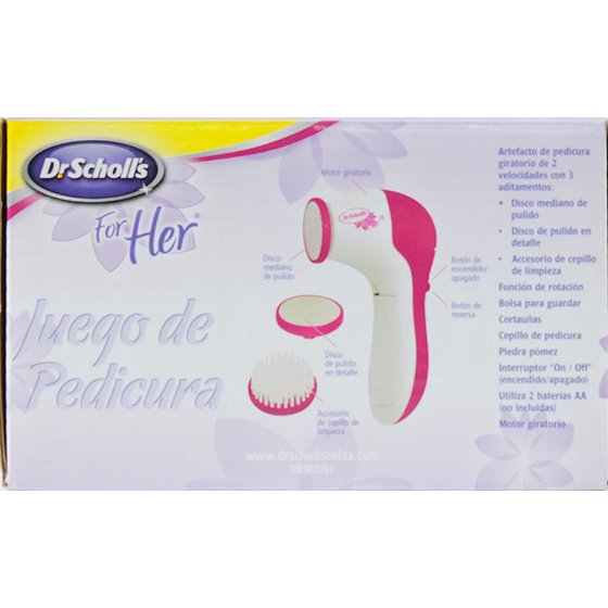 Dr. Scholl's for Her Pedicure Spa Kit 8dcfc1ba6283