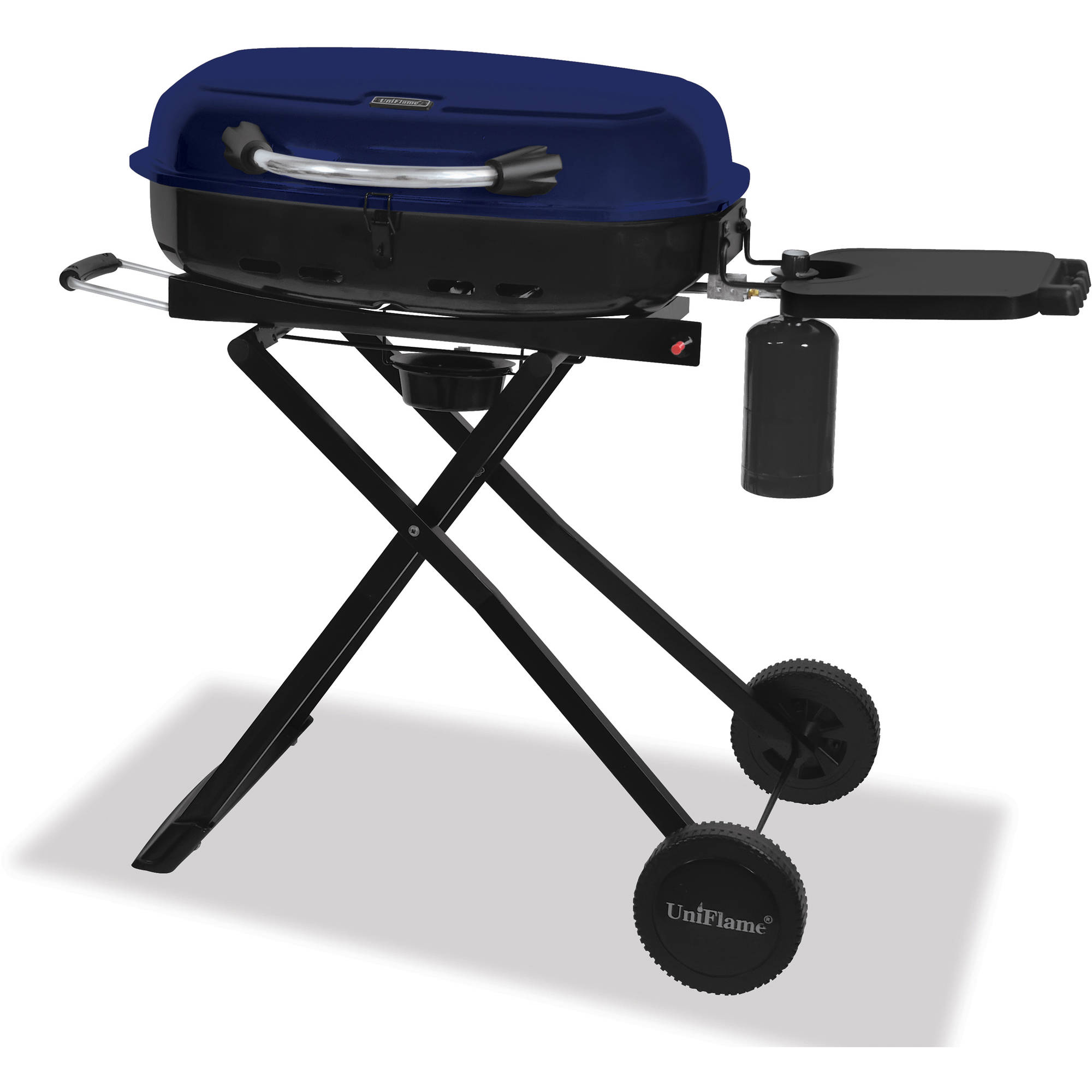 Outdoor Gas Grills ~ Blue rhino outdoor lp gas grill stainless steel walmart