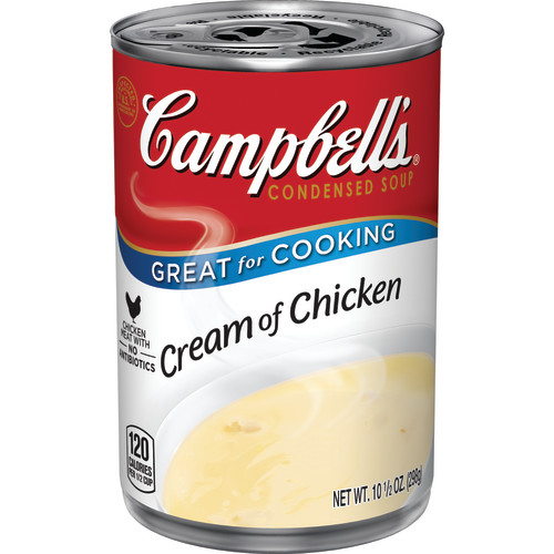 Campbell's Condensed Cream of Chicken Soup, 10.5 oz. by Campbell Soup Company