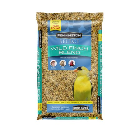 Pennington Select Wild Finch Blend, Wild Bird Seed Feed, 10 Pounds ()