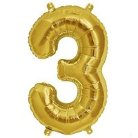 """Efavormart 16"""" Shinny Gold Foil Balloons Letter Balloons For Wedding Party Decorations Graduation New Year Eve Party Supplies"""