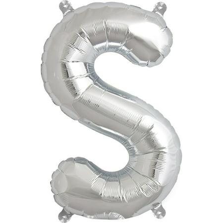 Letter S Balloon, 13.5