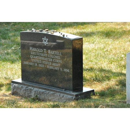 Halloween Headstone Sayings (Canvas Print Graves Memory Resting Place Headstone Stretched Canvas 10 x)