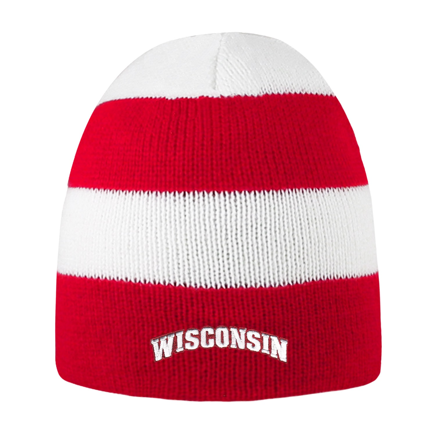 University of Wisconsin Rugby Striped Knit Beanie