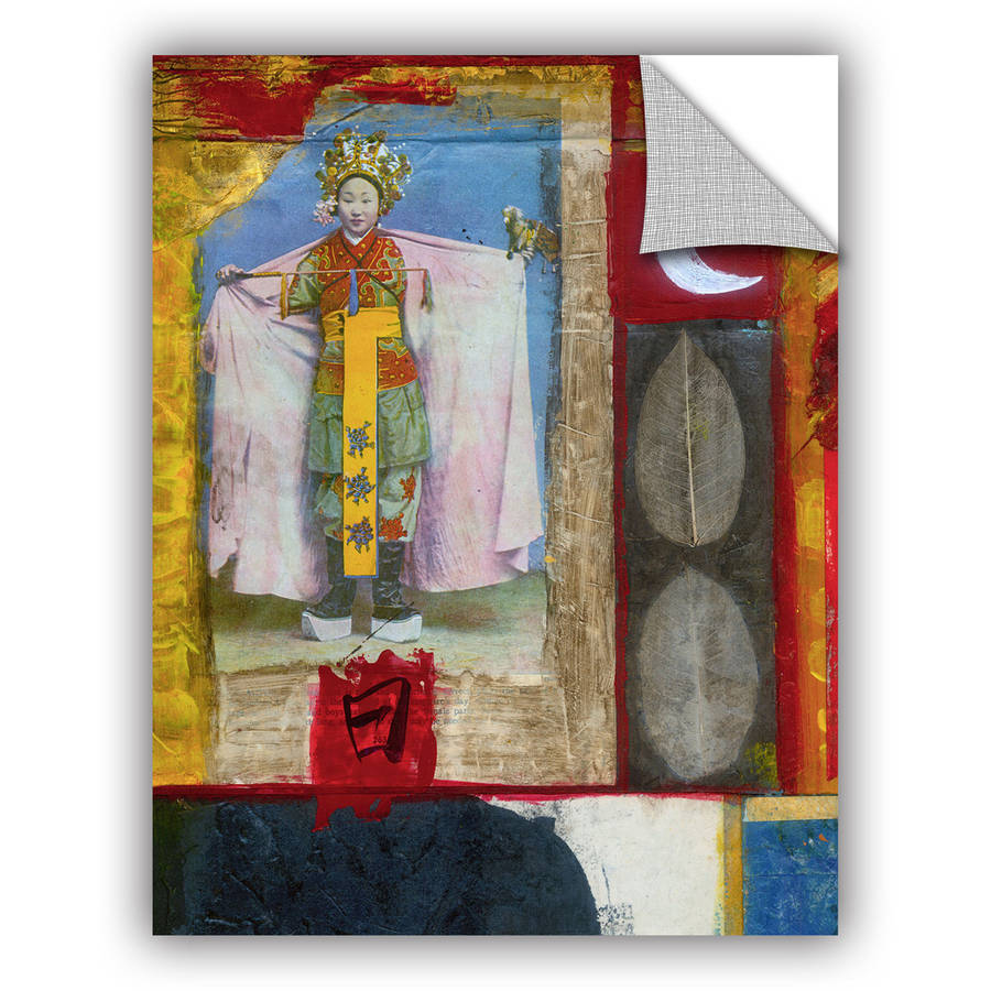 """ArtWall Elena Ray """"Chinese Moon Queen"""" Art Appeals Removable Wall Art"""