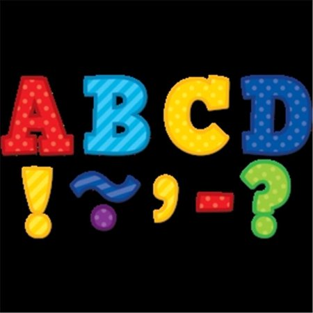 Playful Patterns Bold Block 3 in. Magnetic Letters