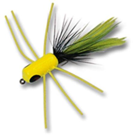 Betts falls fly chartreuse black size 6 for Betts fishing center