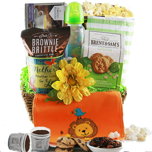 Up all Night - Baby Gift Basket