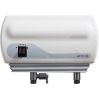 Atmor 8.5kW/240-Volt 1.23 GPM Electric Tankless Water Heater with Pressure Relief Device, On demand Water Heater