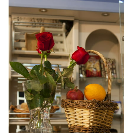 LAMINATED POSTER Red Flowers Red Rose Warmth Nature Rosa Petals Poster Print 24 x