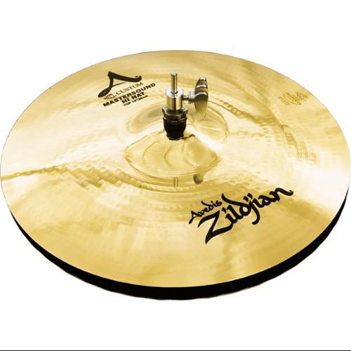 "Zildjian A Custom 14"" Mastersound Hi Hat Cymbals by Zildjian"