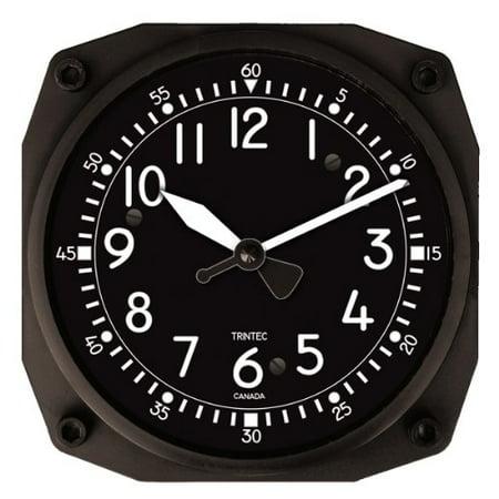 Trintec Series 2060 NV Aircraft Cockpit Instrument Clock 6.5