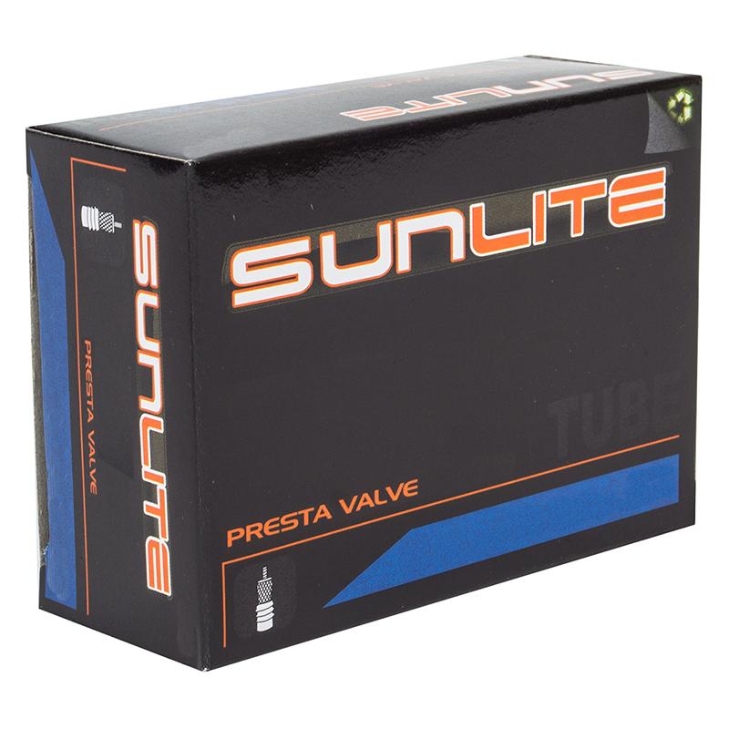 30-32 48mm X-Long Presta Valve Road Hybrid Bike Inner Tube Sunlite 700x 25-28