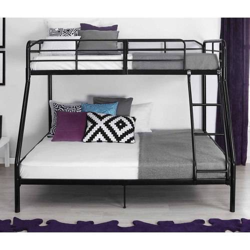 Mainstays Twin Over Full Bunk Bed with 2 Mattresses