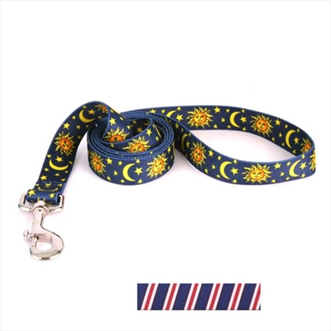 Yellow Dog Design TSRWB104LD 3/8 inch x 60 inch Team Spirit Red  White and Navy Blue Lead