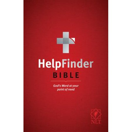 HelpFinder Bible NLT (Red Letter, Softcover) : God's Word at Your Point of (Word For Each Letter Of Your Name)
