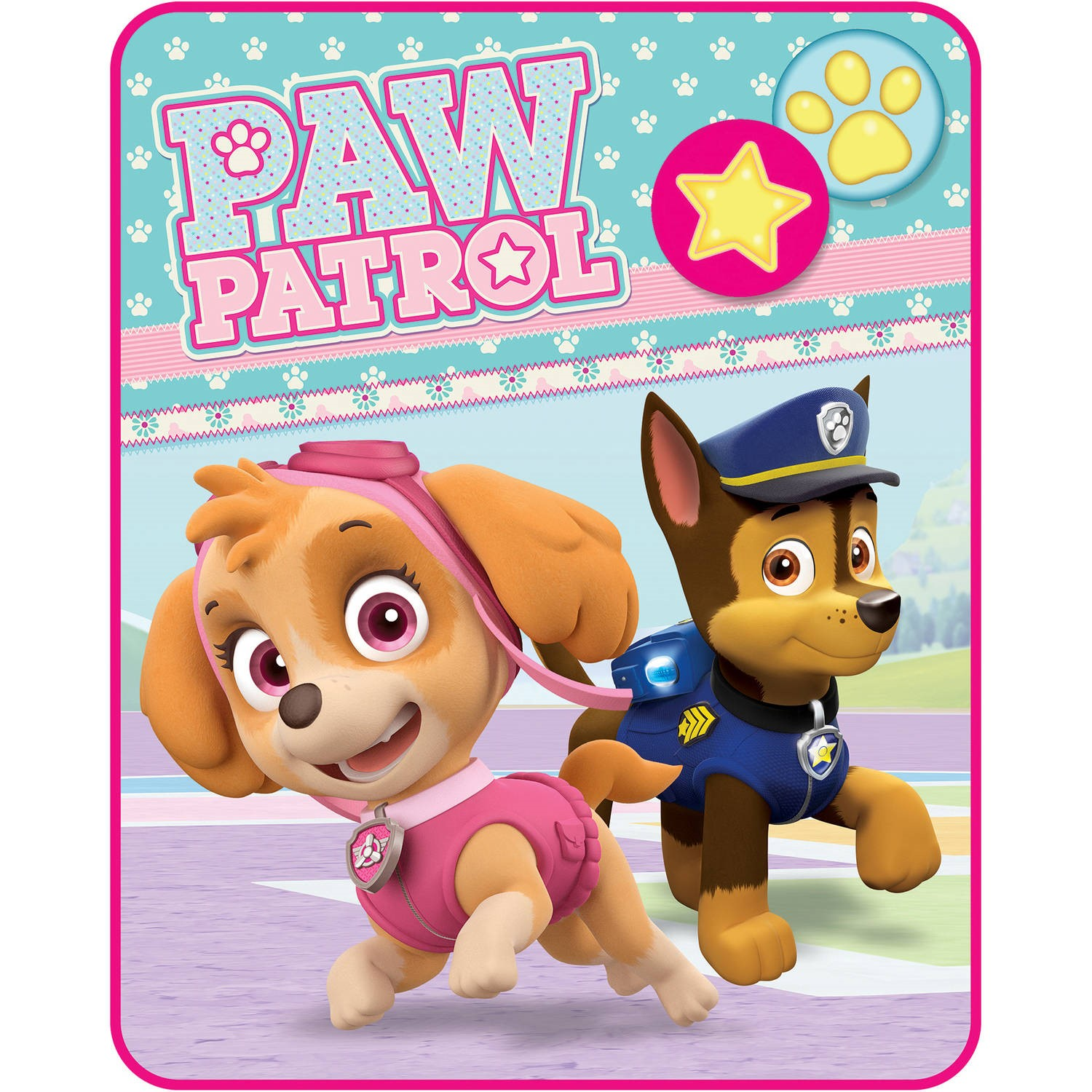 "Paw Patrol ""Pawsome Pals"" Kids' Silky Soft 40"" x 50"" Throw"