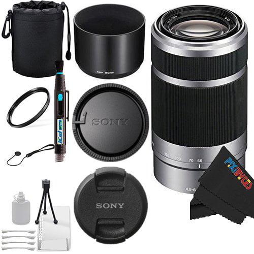Sony E 55-210mm F4.5-6.3 OSS Lens for Sony E-Mount Camera...